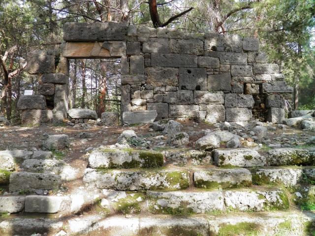 Domitian's Agora, Phaselis © Carole Raddato