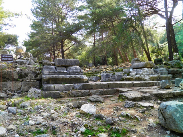 The ruins of Hadrian's Gate, Phaselis © Carole Raddato