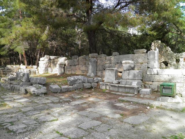 Agora of Hadrian, Phaselis © Carole Raddato