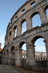 Pula Arena, Roman Amphitheatre © Carole Raddato