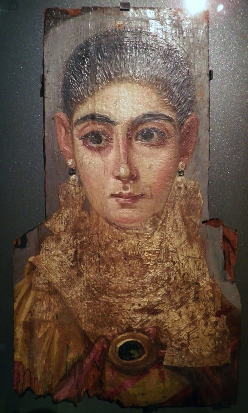 "Portrait of a woman, known as ""L'Européenne"", AD 120-130, from Antinoöpolis (Antinoë), Egypt, Louvre Museum © Carole Raddato"