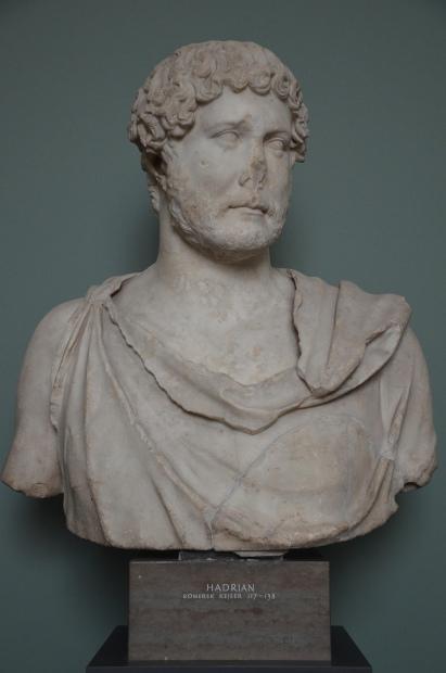 Hadrian, from Rome, 125-138 AD, Ny Carlsberg Glyptotek, Copenhagen © Carole Raddato