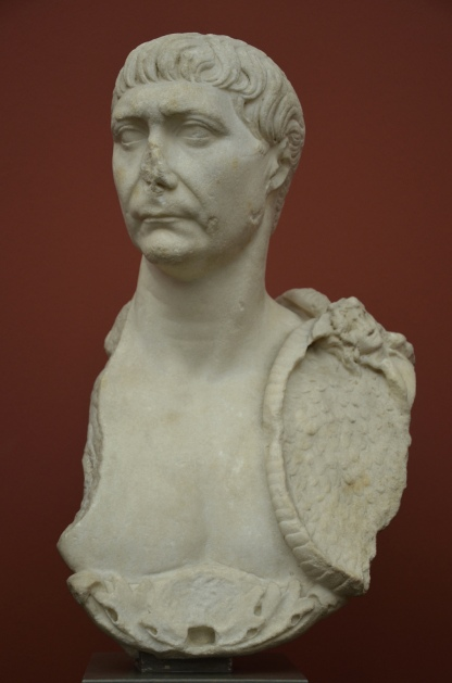 Bust of Trajan, from the Baths of Caracalla, Rome, AD 98-117, Ny Carlsberg Glyptotek, Copenhagen © Carole Raddato
