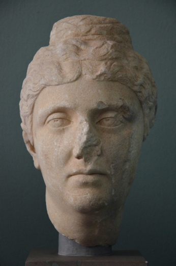 The Empress Faustina the Elder, wife of Antoninus Pius, c. AD 140, Ny Carlsberg Glyptotek, Copenhagen