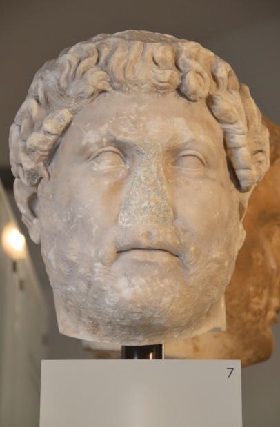 Head of Hadrian, from Italy, Ny Carlsberg Glyptotek, Copenhagen © Carole Raddato