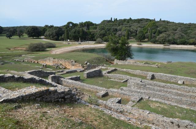 Roman Villa in the Bay of Verige, Brijuni Islands, Croatia © Carole Raddato