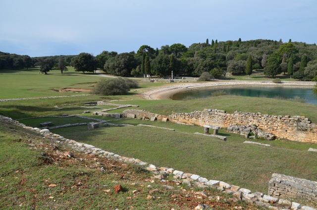 Roman Villa in the Bay of Verige © Carole Raddato
