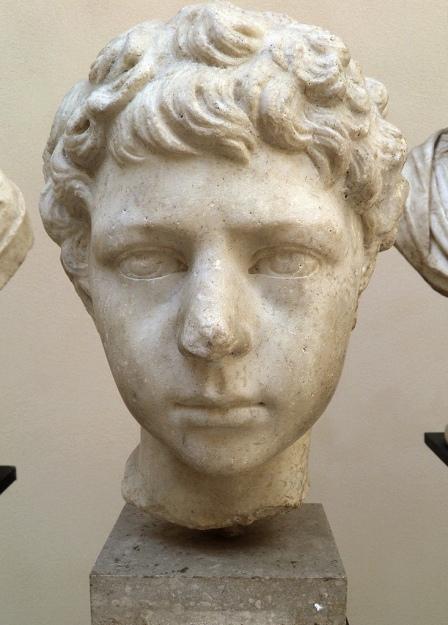 Lucius Verus as a child, from Ostia Antica, Italy © Carole Raddato
