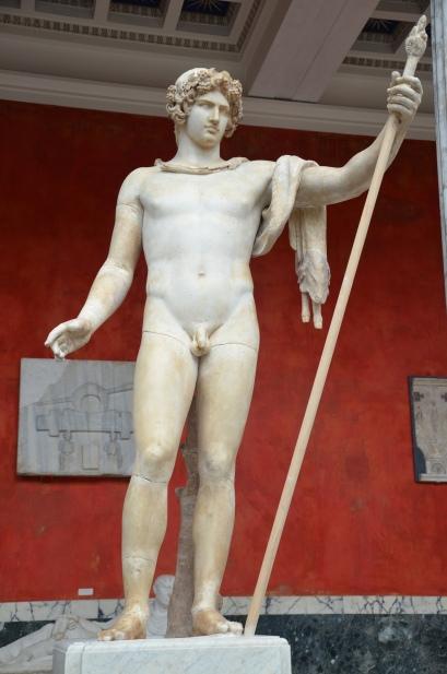 Antinous as Dionysus, Ny Carlsberg Glyptotek, Copenhagen