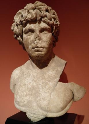 Antinous, from Perge, Antalya Museum