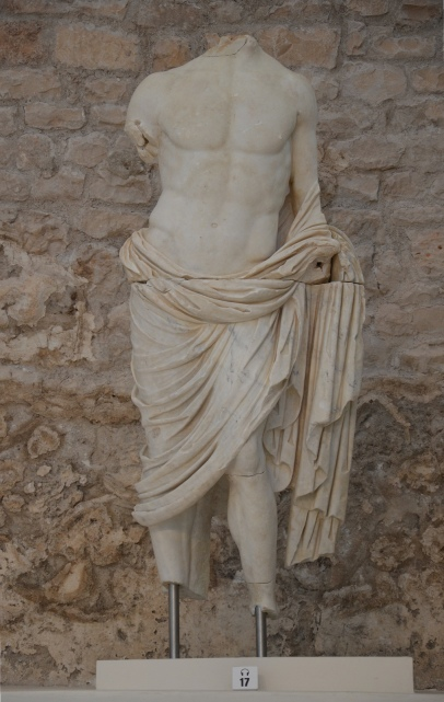Torso of Germanicus, Archaeological museum Narona © Carole Raddato