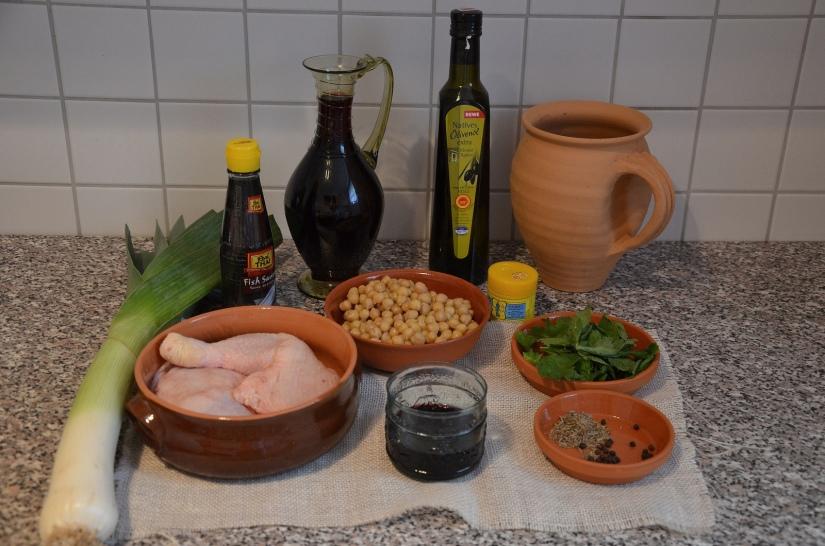 Parthian Chicken & Chickpeas - Ingredients © Carole Raddato