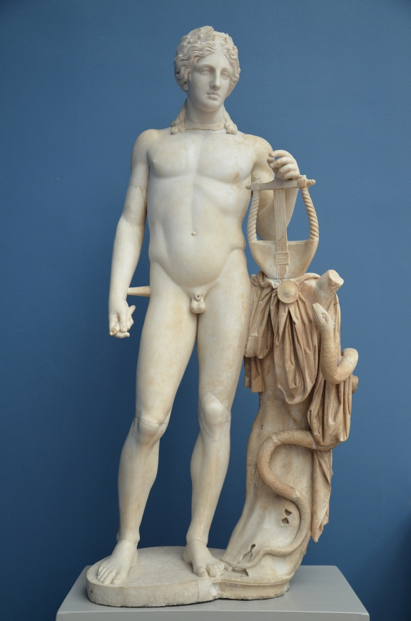 Apollo, from the Temple of Venus (Casino Fede) at Hadrian's Villa, Ny Carlsberg Glyptoteket © Carole Raddato