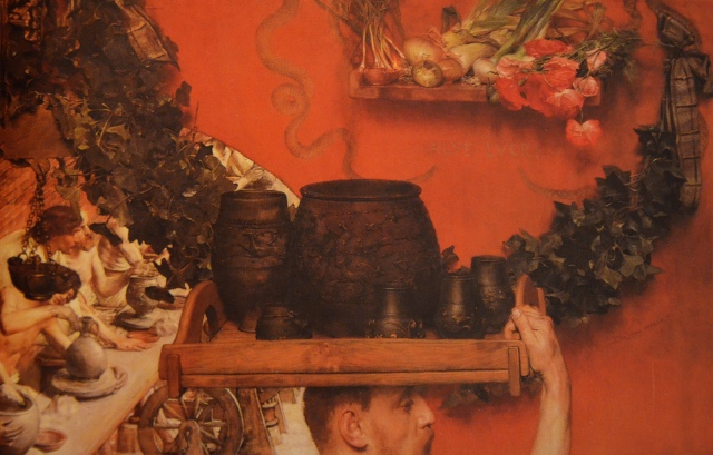 The Roman Potters in Britain, 1884 Oil on canvas (cut and repainted), Royal Collection, The Hague This artwork is in the public domain