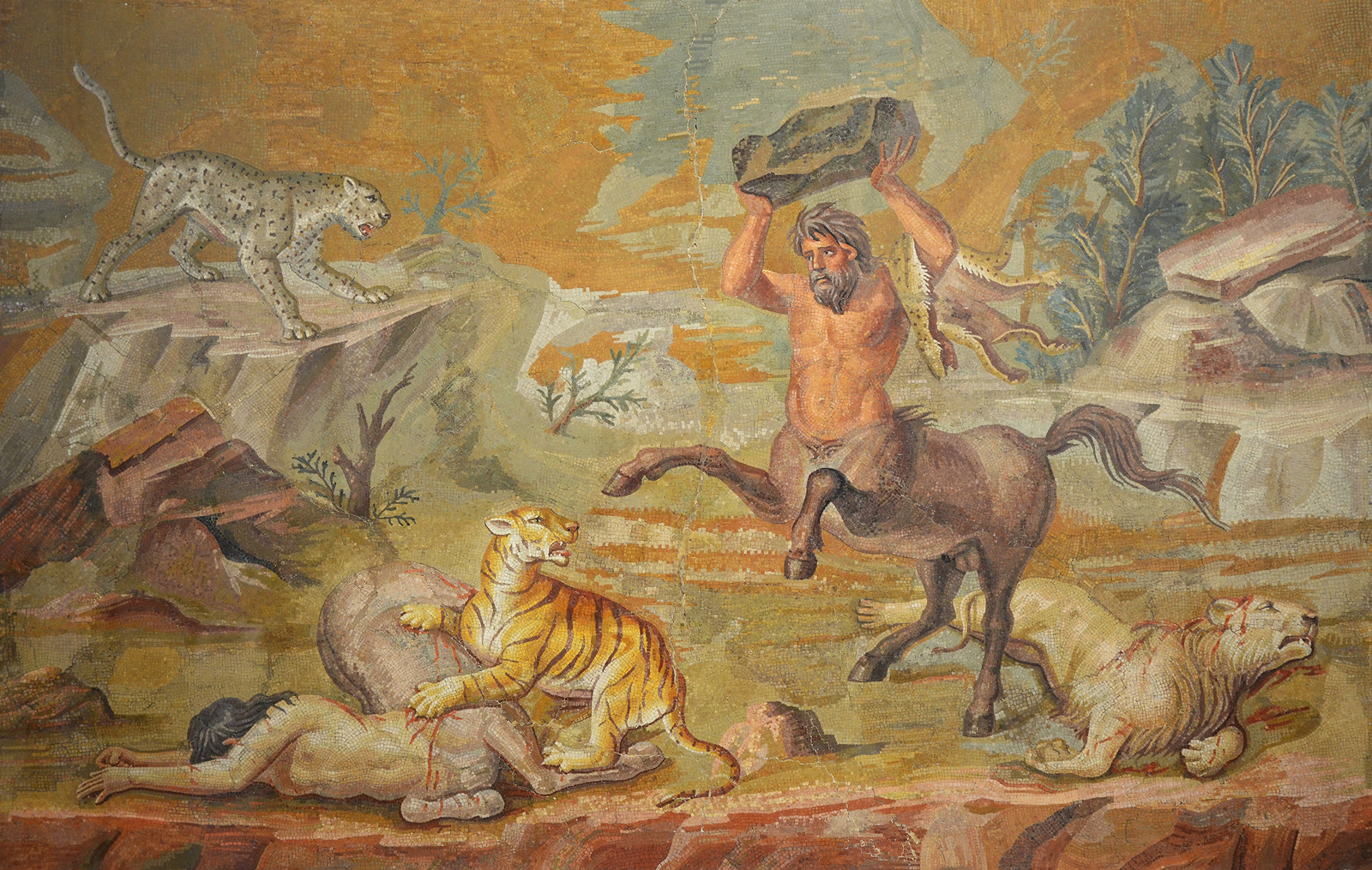 fresco vs mosaic Minoan art in ancient greece,  minoan painters utilized the wet type of fresco painting in which pigments were applied directly to wet plaster, binding.