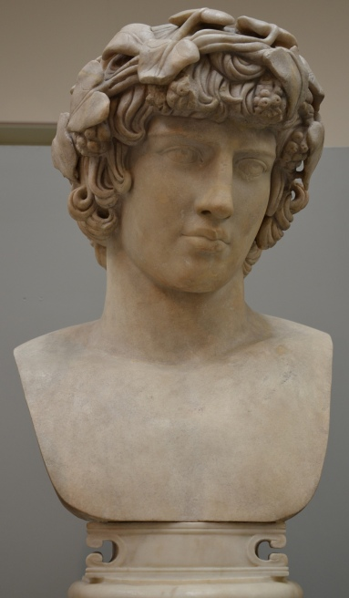 Marble Bust of Antinous, from Rome, AD 130-140, British Museum