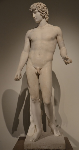 The Antinous Farnese, AD 130-138, Naples Archaeological Museum