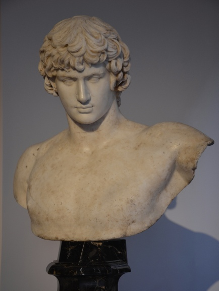 Bust of Antinous, 131-132 AD, Museo del Prado, Madrid