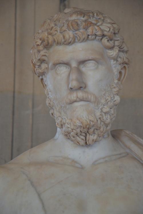 Heroic statue of Lucius Aelius Caesar, Louvre