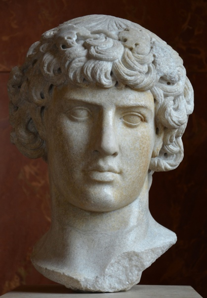 Antinous as Dionysus, Louvre