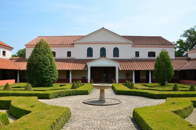 The villa borg images of a reconstructed roman villa in saarland