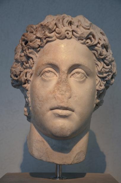 Commodus, end of 2nd century AD, Dal mercato antiquario, Palazzo Massimo alle Terme, Rome
