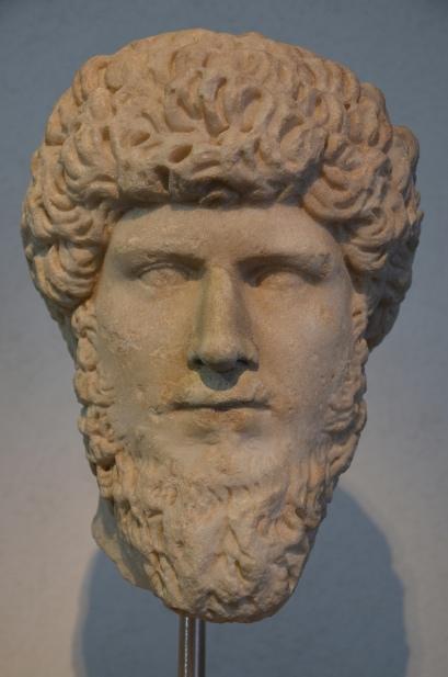 Lucius Verus, from the Via Appia, 169 AD, Palazzo Massimo alle Terme, Rome