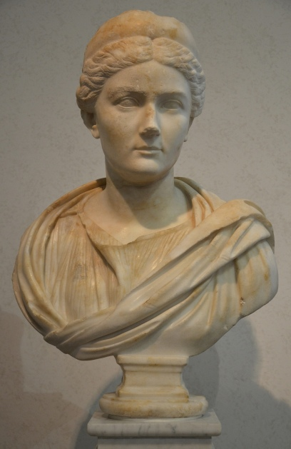 Sabina (wife of Hadrian), found on the Via Appia, 134-136 AD, Palazzo Massimo alle Terme, Rome