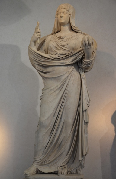 Faustina the Younger, 160 AD, Palazzo Massimo alle Terme, Rome