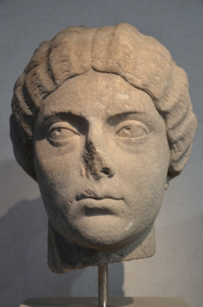 Faustina the Younger, from the area of the Villa Altieri, 175 AD, Palazzo Massimo alle Terme, Rome