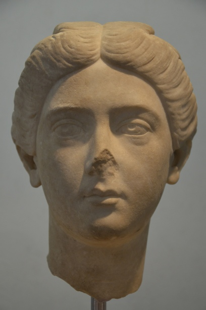 Bruttia Crispina, wife of Commodus, from Villa Adriana (Hadrian's Villa), c. 178 AD.