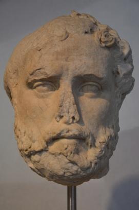 Antoninus Pius, from Villa Adriana (Hadrian's Villa), c. 161 AD.