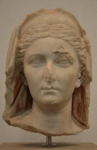 Sabina, found near near Vittorio Emanuele II, 136-138 A.D., Palazzo Massimo alle Terme, Rome