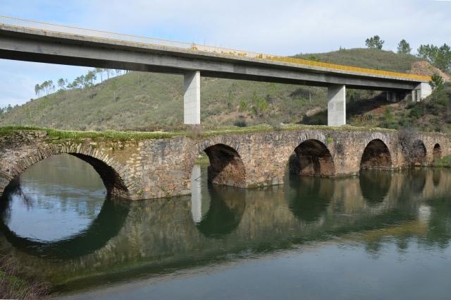 Roman Bridge, Ponte da Ladeira dos Envendos, Lusitania, Portugal © Carole Raddato