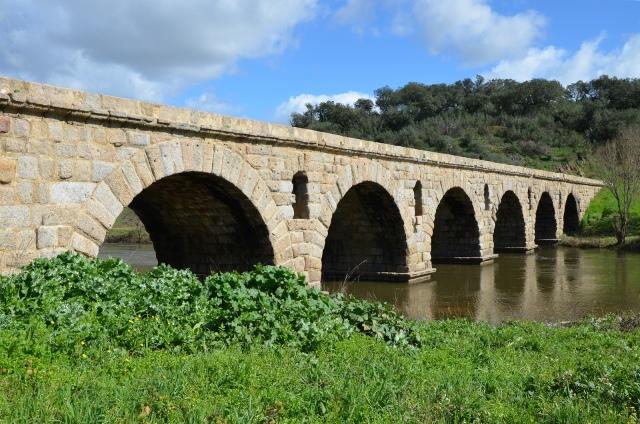 Roman Bridge, Ponte da Vila Formosa, Lusitania, Portugal © Carole Raddato