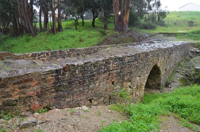Roman bridge at Mirobriga, Lusitania, Portugal © Carole Raddato