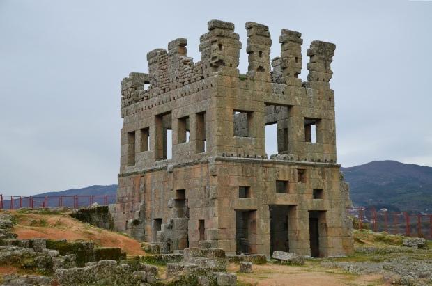 Roman tower of Centum Cellas, Belmonte, Portugal © Carole Raddato