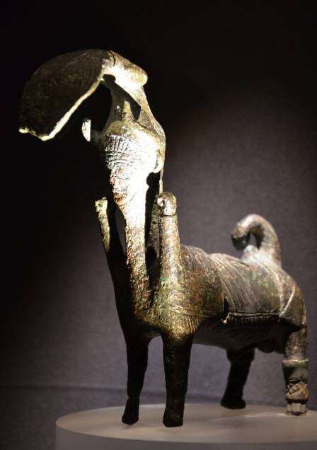 Bronze statuette of a Centaur, 8th-7th century BC, Monsters. Fantastic Creatures of Fear and Myth Exhibition, Palazzo Massimo, Rome © Carole Raddato