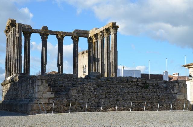 The Roman Temple of Évora © Carole Raddato