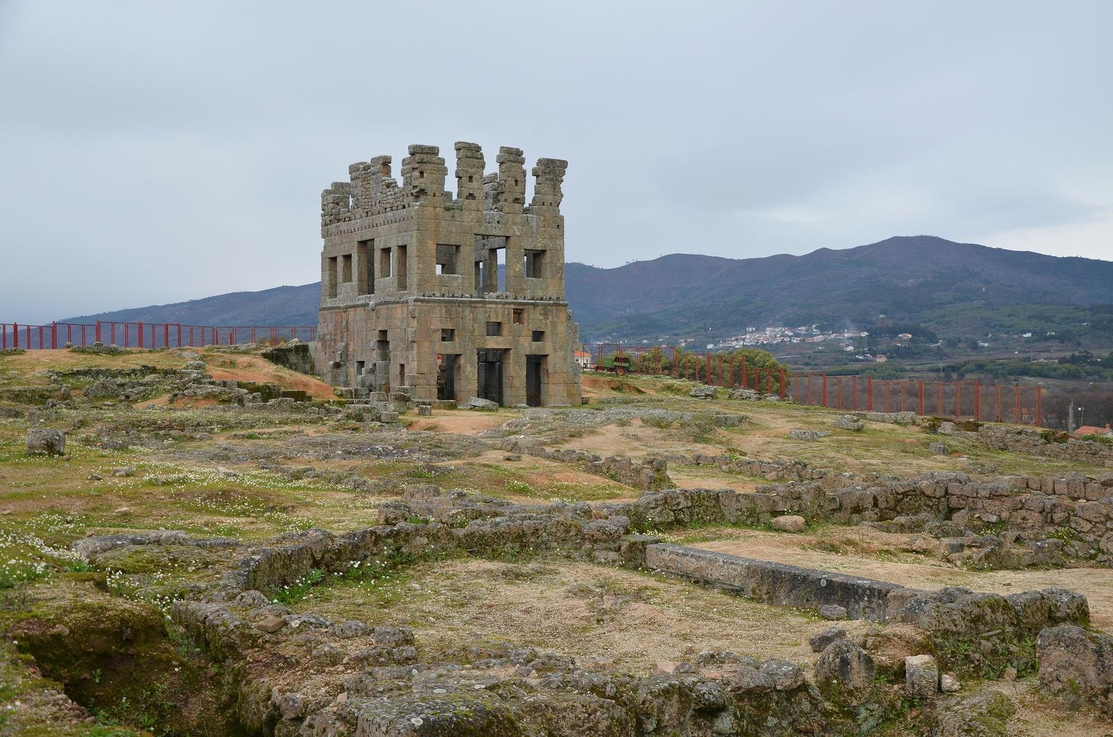 Belmonte Portugal  city images : Roman tower of Centum Cellas, Belmonte, Portugal © Carole Raddato