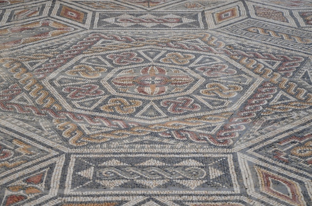 Mosaic floor in the House of the Squeletons, Conimbriga, Lusitania, Portugal © Carole Raddato
