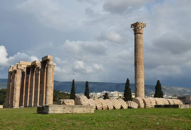 Temple of Olympian Zeus, Athens, Greece © Carole Raddato