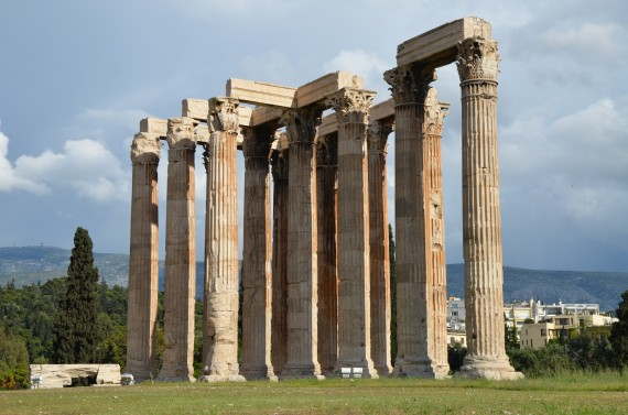 Temple of Olympian Zeus.