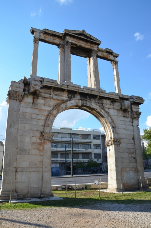 Arch of Hadrian, southeast side (facing the Olympeion), Athens © Carole Raddato