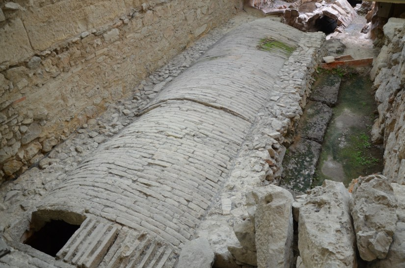 Exposed section of the Eridanos river which was bricked over during Hadrian's reign, Excavations of Monastikari Square, Athens © Carole Raddato