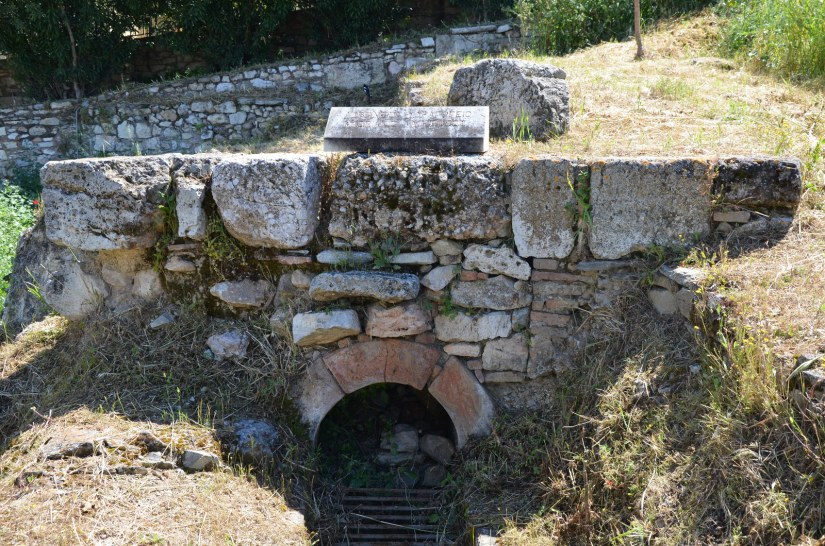 Section of the Hadrianic aqueduct near the Ancient Agora, Athens © Carole Raddato