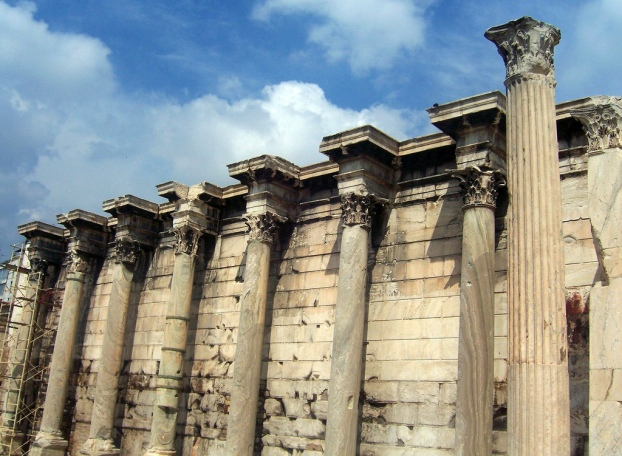 Hadrian's Library, Athens Photo taken in 2010 when I first visited Athens. © Carole Raddato