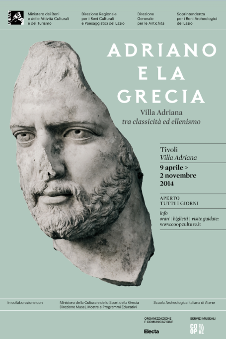 Hadrian and Greece Villa Adriana, Antiquarium from 9 April to 2 November 2014