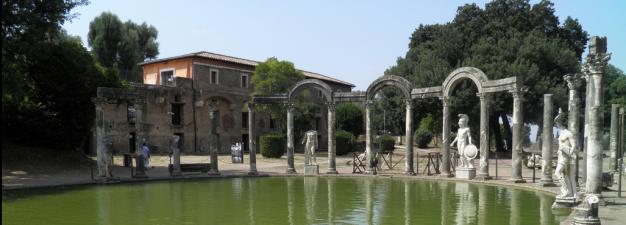 The Canopus and Antiquiarium, Hadrian's Villa, Tivoli © Carole Raddato