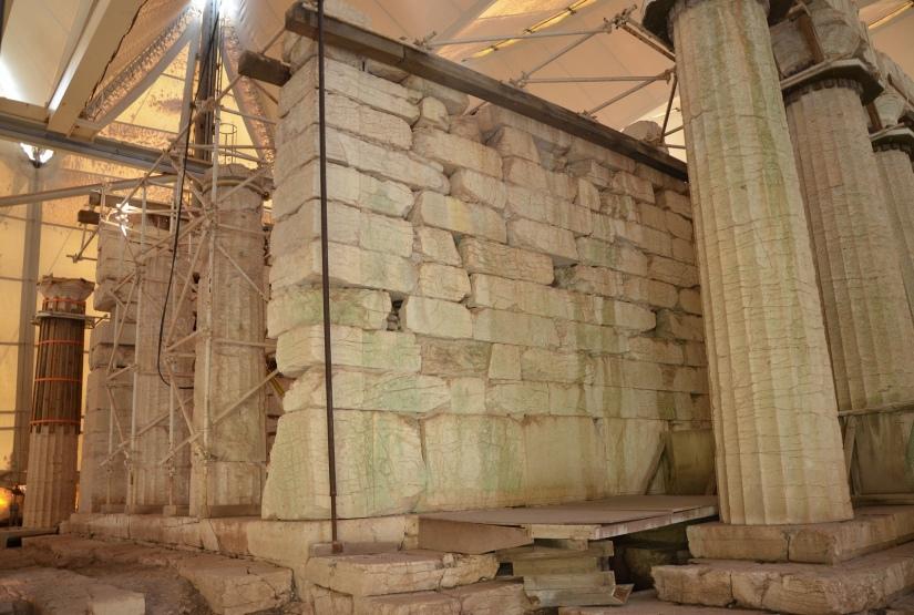 The Temple of Apollo Epikourios at Bassae, Proanos © Carole Raddato